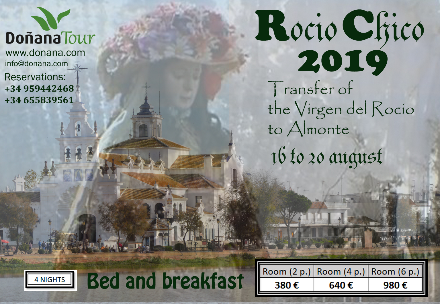 ROCÍO CHICO 2019 TRANSFER OF THE VIRGIN OF THE ROCÍO