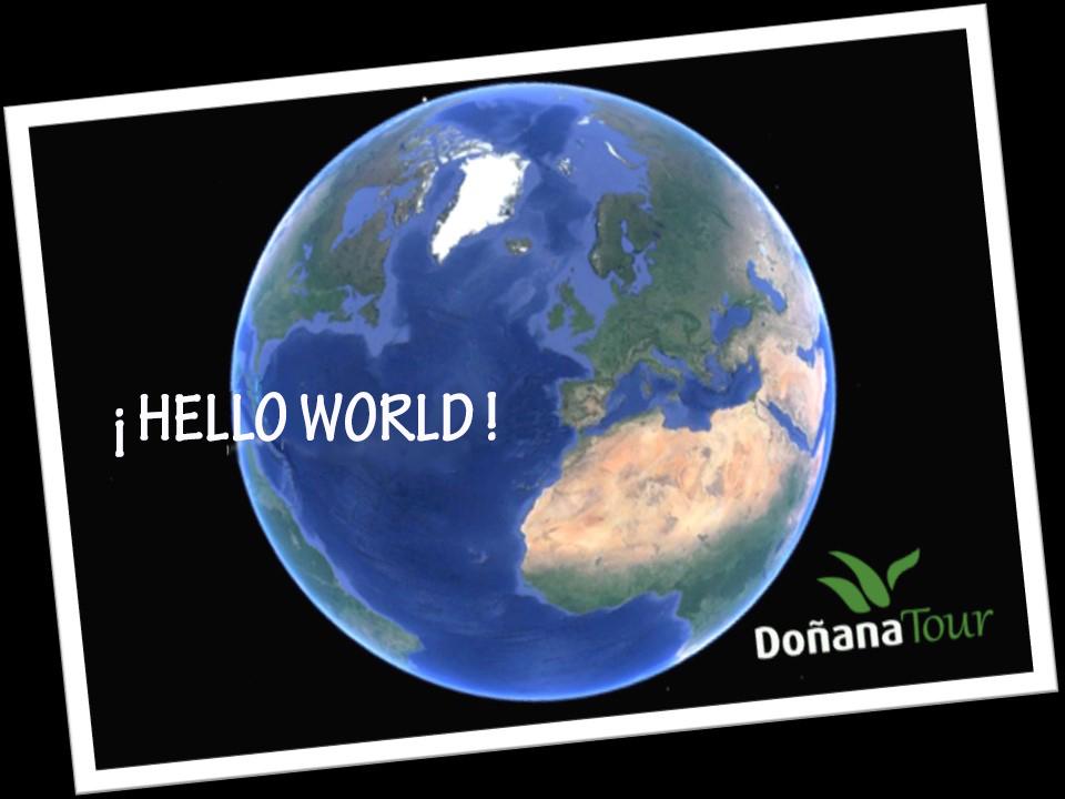 Presentation Blog Doñanatour about the Doñana Natural Area